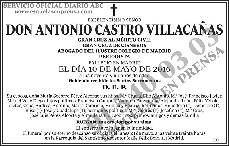 Antonio Castro Villacañas